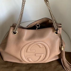 Authentic Gucci Soho Bag - Neutral Color